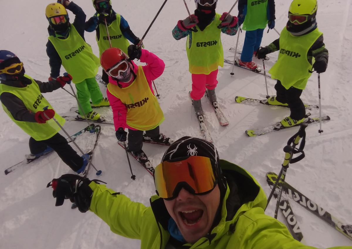 Poludnevna škola skijanja SLJEME